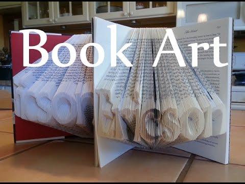 学习制作艺术书本 Folded Book Art