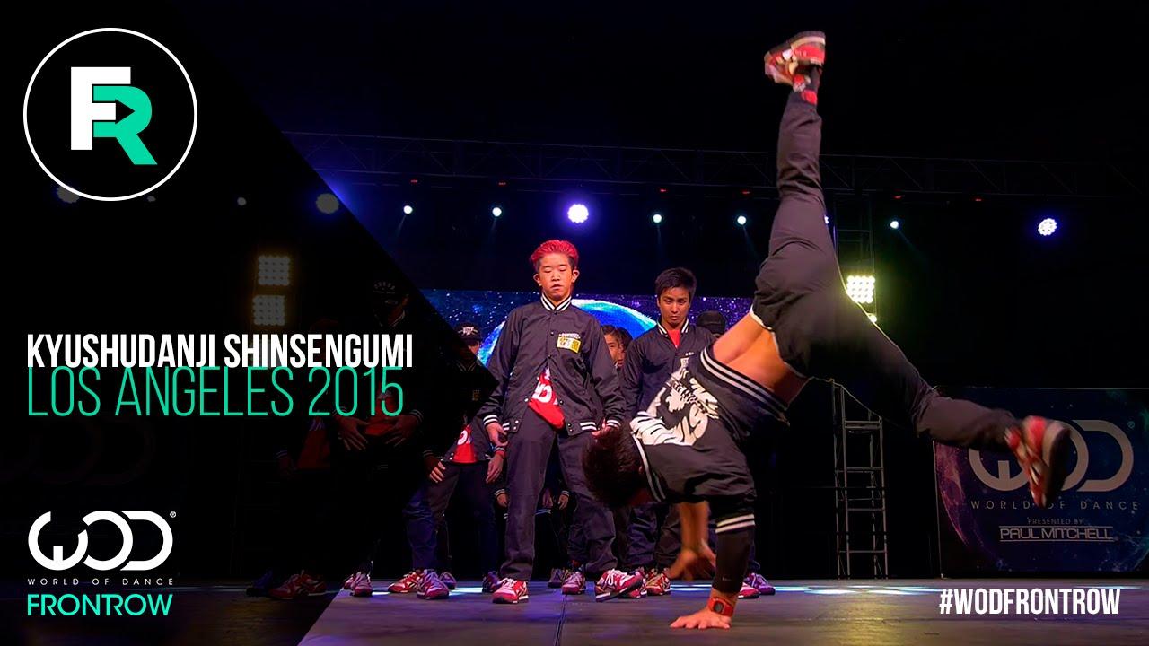 #KyushudanjiShinsengumi 1st Place Youth | FRONTROW | World of Dance Los Angeles 2015 | #WODLA15