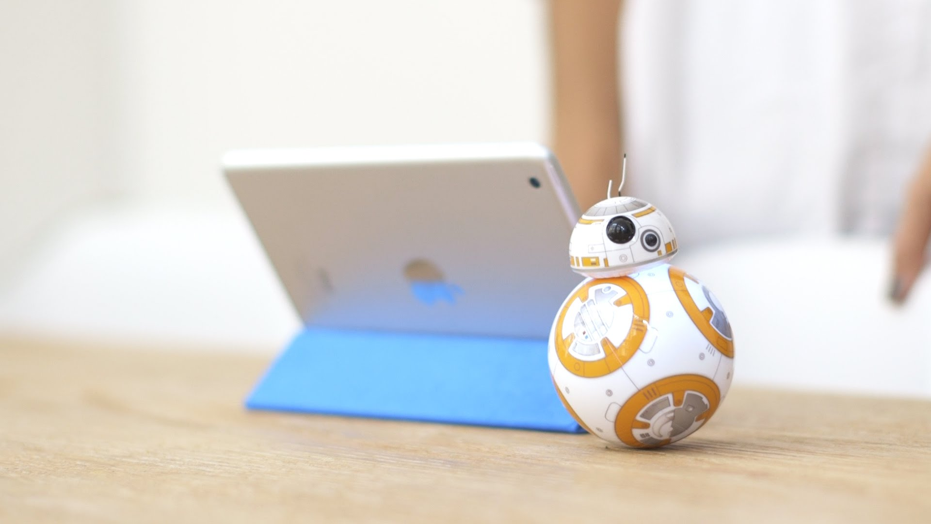 #StarWars #BB8 The Star Wars BB-8 droid can now patrol your home
