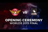 #LOL SKT vs KOO Worlds FINAL Build up, Predictions and Opening Cermony Live Now!