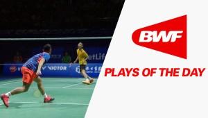 Plays Of The Day – #Lin Dan vs #Lee Chong Wei   Badminton SF – Thaihot China Open 2015