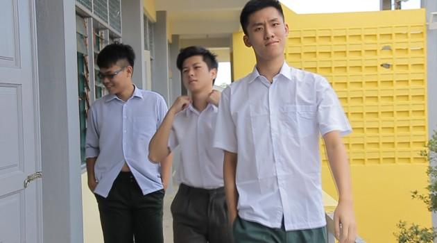 当学校开学的时候