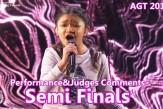 "#AngelicaHale Phenomenal ""#Without You"" &Judges Comments Semi Finals #America'sGotTalent 2017"