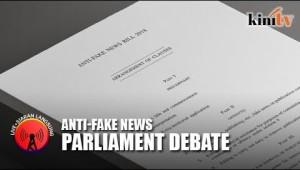 #LIVE: #DewanRakyat tables #Anti-FakeNewsbill