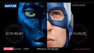 Live #AvengersEndgame VS #Avatar Box office