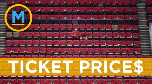 Tickets for Game 5 of the #NBA Finals are just as expensive as you think they are | Your Morning