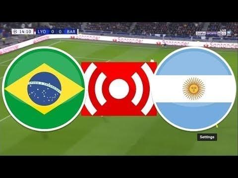 #Brazil vs #Argentina Live Stream 02/07/2019 LIVE #CopaAmerica semi final