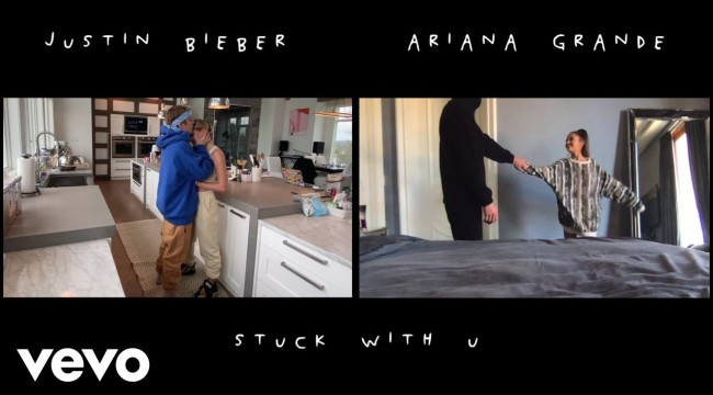 #ArianaGrande & #JustinBieber – #Stuck with U (Official Video)
