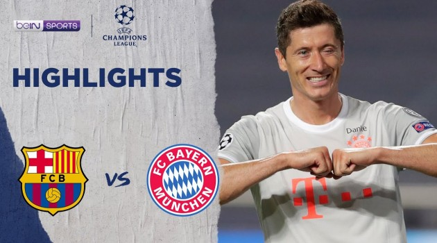 #Barcelona 2-8 #BayernMunich | #ChampionsLeague 19/20 Match Highlights