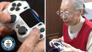 Meet the 90 year old #gamergrandma! – #Guinness World Records #GWR
