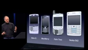 #SteveJobs introduces #iPhone in 2007 #apple
