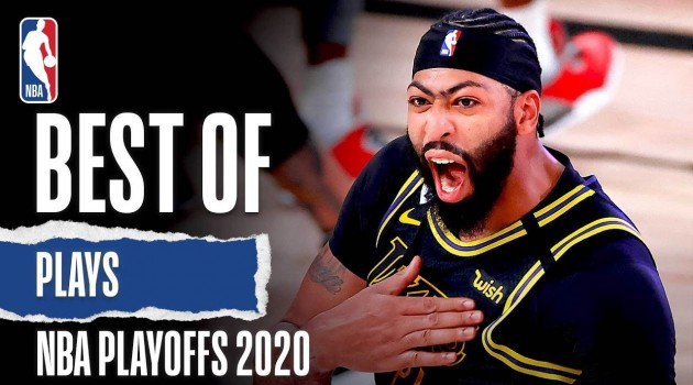 The BEST Plays From The 2020 #NBAPlayoffs!