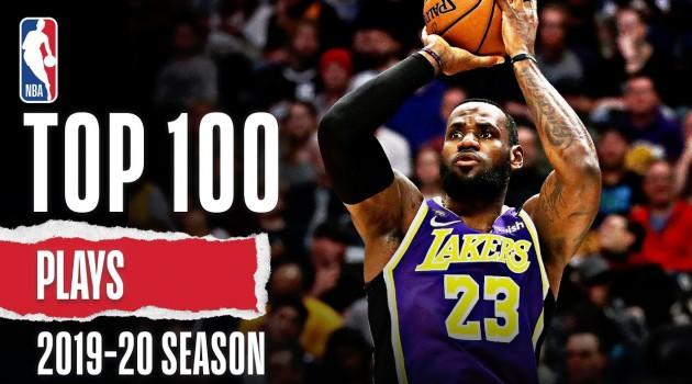 Top 100 Plays | 2019-20 #NBA Season
