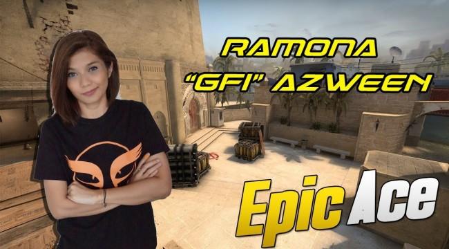 "SICK ACE CLUTCH BY #RAMONA ""#GFi"" AZWEEN !! #CSGO"