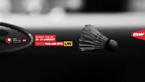 #TOYOTA #ThailandOpen #Chia/Soh (MAS) [8] vs. Lee/Wang (TPE) [6] Men Doubles Final Live now!