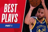 The #NBA BEST PLAYS from the 2020-21 Season so far!  🔥