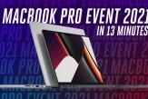 #Apple #MacBookPro event in 13 minutes