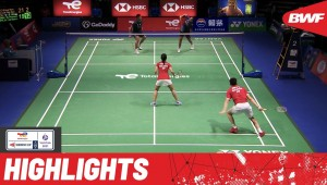 #SudirmanCup #Vantaa2021 Must-see quarterfinals action between #Malaysia and #Indonesia